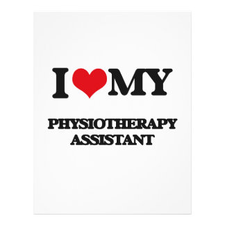 I love my Physiotherapy Assistant 21.5 Cm X 28 Cm Flyer