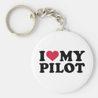 I love my Pilot Basic Round Button Key Ring