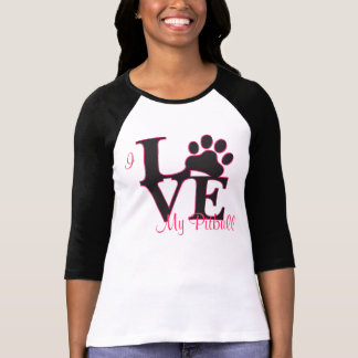I Love My Pitbull T-Shirt