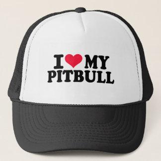 I love my Pitbull Trucker Hat