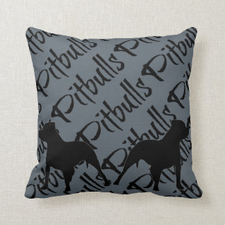 I Love My Pitbulls Cushion
