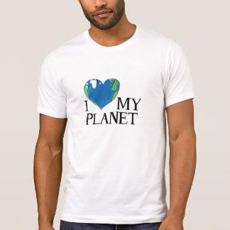 I love my planet t shirts