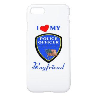 I Love My Police Boyfriend iPhone 7 Case