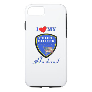I Love My Police Husband iPhone 7 Case