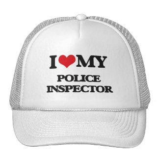 I love my Police Inspector Trucker Hat
