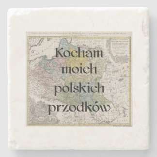 I Love My Polish Ancestors | Custom Coasters