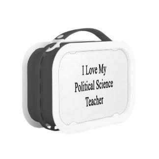 I Love My Political Science Teacher Lunch Box