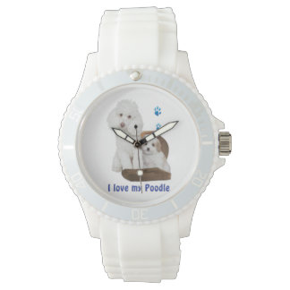 I love my poodle watch
