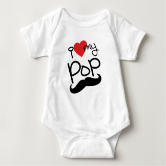 I Love my Pop Baby Bodysuit