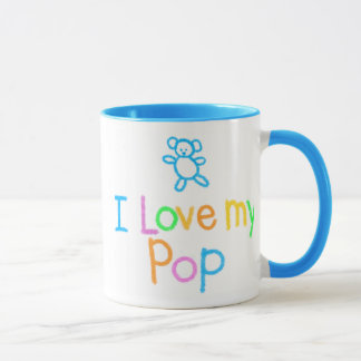 I Love My Pop Mug