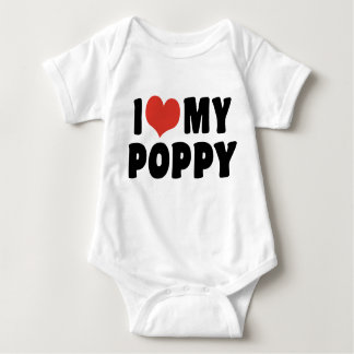 I Love My Poppy Baby Bodysuit