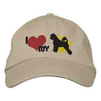 I Love my Portuguese Water Dog Embroidered Hat