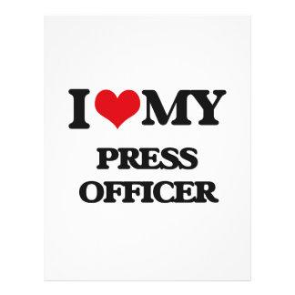 I love my Press Officer Flyer