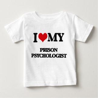 I love my Prison Psychologist Baby T-Shirt