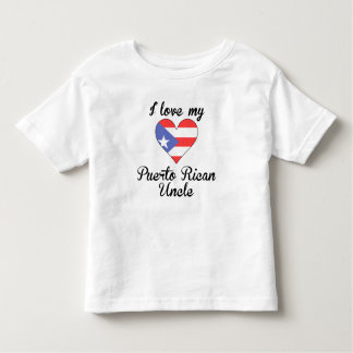 I Love My Puerto Rican Uncle T-shirt