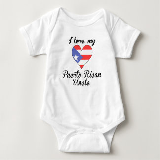 I Love My Puerto Rican Uncle Tees