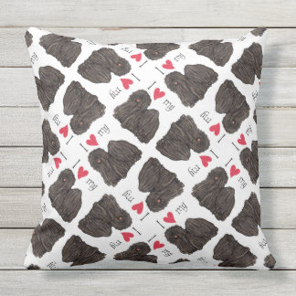 I Love my Puli Cushion