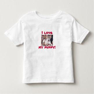 I love my puppy shirts