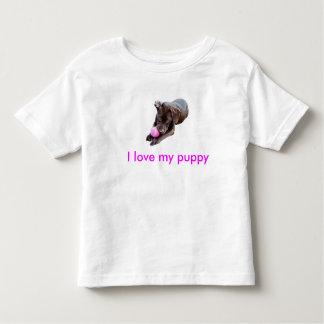 I love my puppy t shirt