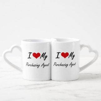 I love my Purchasing Agent Couple Mugs