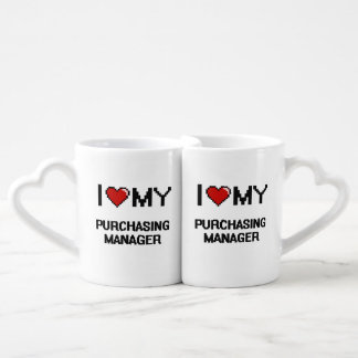 I love my Purchasing Manager Couple Mugs