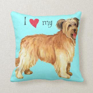 I Love my Pyrenean Shepherd Throw Pillow