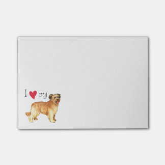 I Love my Pyrenean Shepherd Post-It Notes