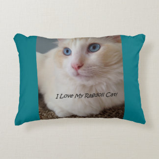 I Love My Ragdoll Cat Decorative Cushion