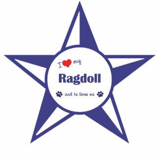I Love My Ragdoll (Male Cat) Cut Outs