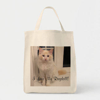 I Love My Ragdoll Tote Bag