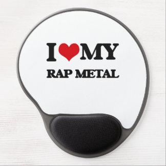 I Love My RAP METAL Gel Mouse Mats