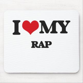 I Love My RAP Mousepad