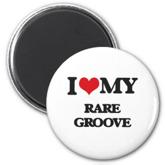 I Love My RARE GROOVE Magnets