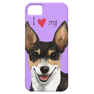 I Love my Rat Terrier Case For The iPhone 5