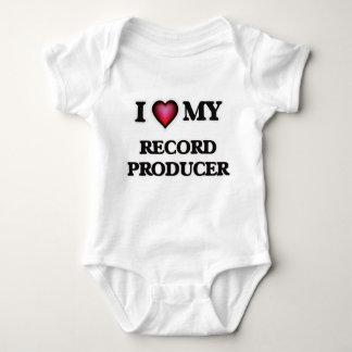 I love my Record Producer Baby Bodysuit