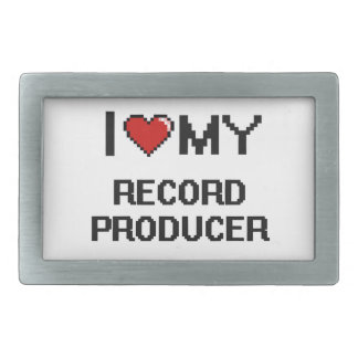 I love my Record Producer Belt Buckles