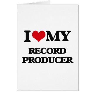 I love my Record Producer Card