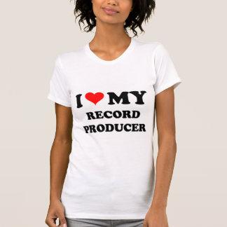 I Love My Record Producer Shirt