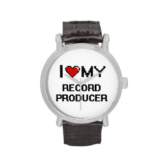 I love my Record Producer Wrist Watches