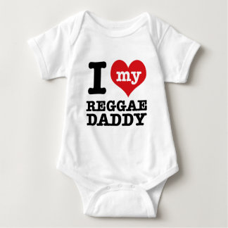I love my Reggae Dancer Daddy Baby Bodysuit