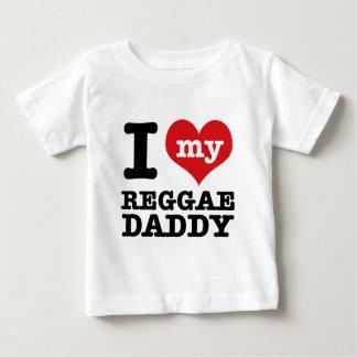 I love my Reggae Dancer Daddy Baby T-Shirt