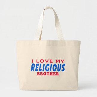 I Love My Religious Dance Brother Tote Bags
