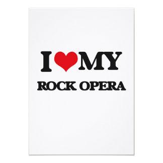 I Love My ROCK OPERA Custom Invite