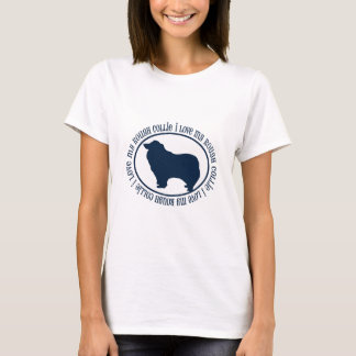 I Love My Rough Collie T-Shirt