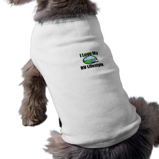 I Love My RV Lifestyle Dog Sweater Shirt