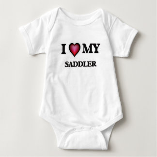 I love my Saddler Baby Bodysuit