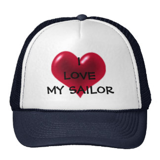 I LOVE MY SAILOR CAP