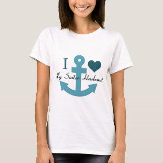 I Love My Sailor Husband T-Shirt