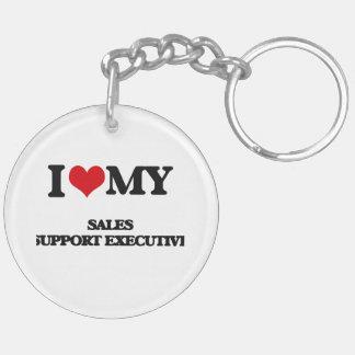 I love my Sales Support Executive Acrylic Keychain