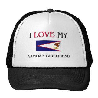 I Love My Samoan Girlfriend Hat